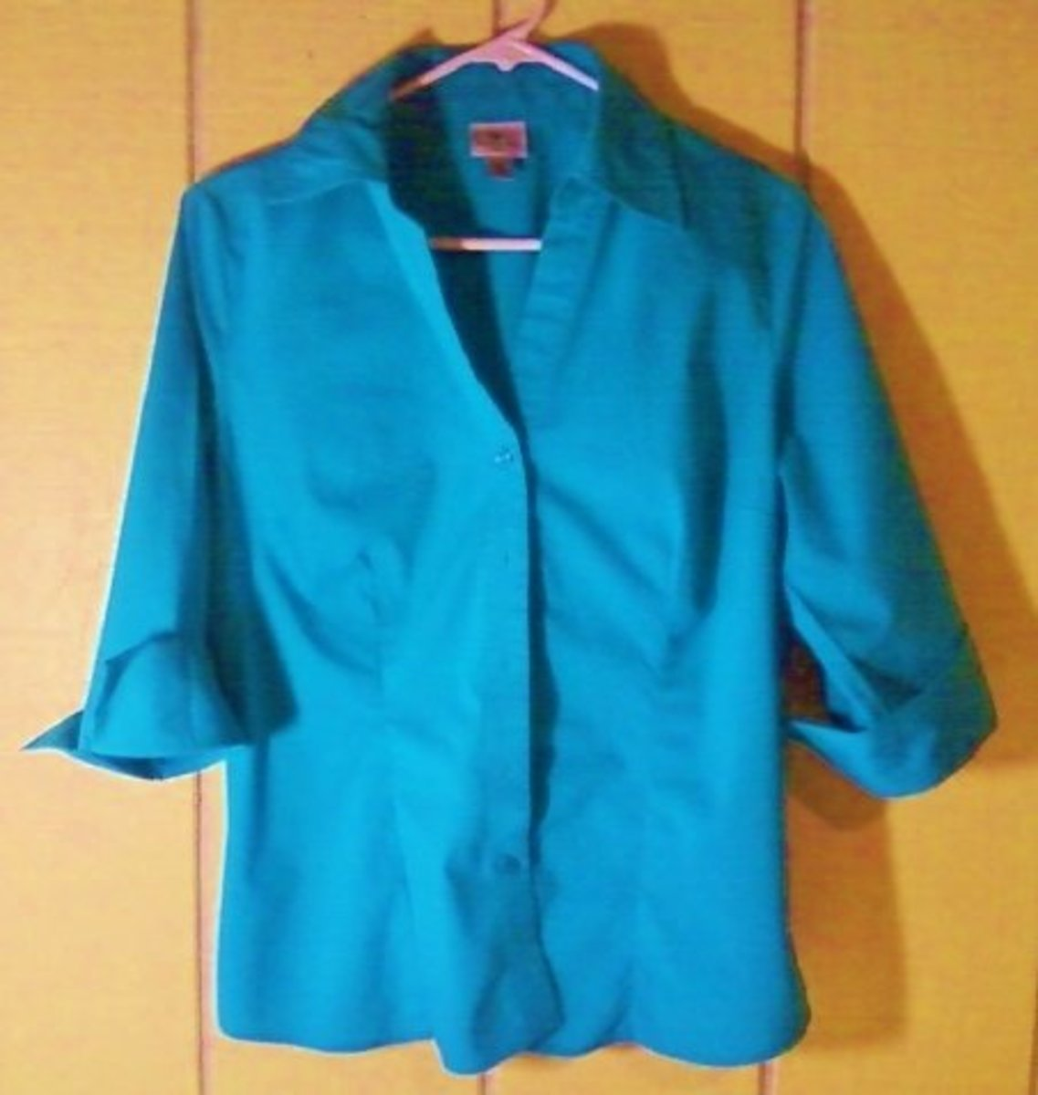 The Finished Blouse, Cuffs Turned