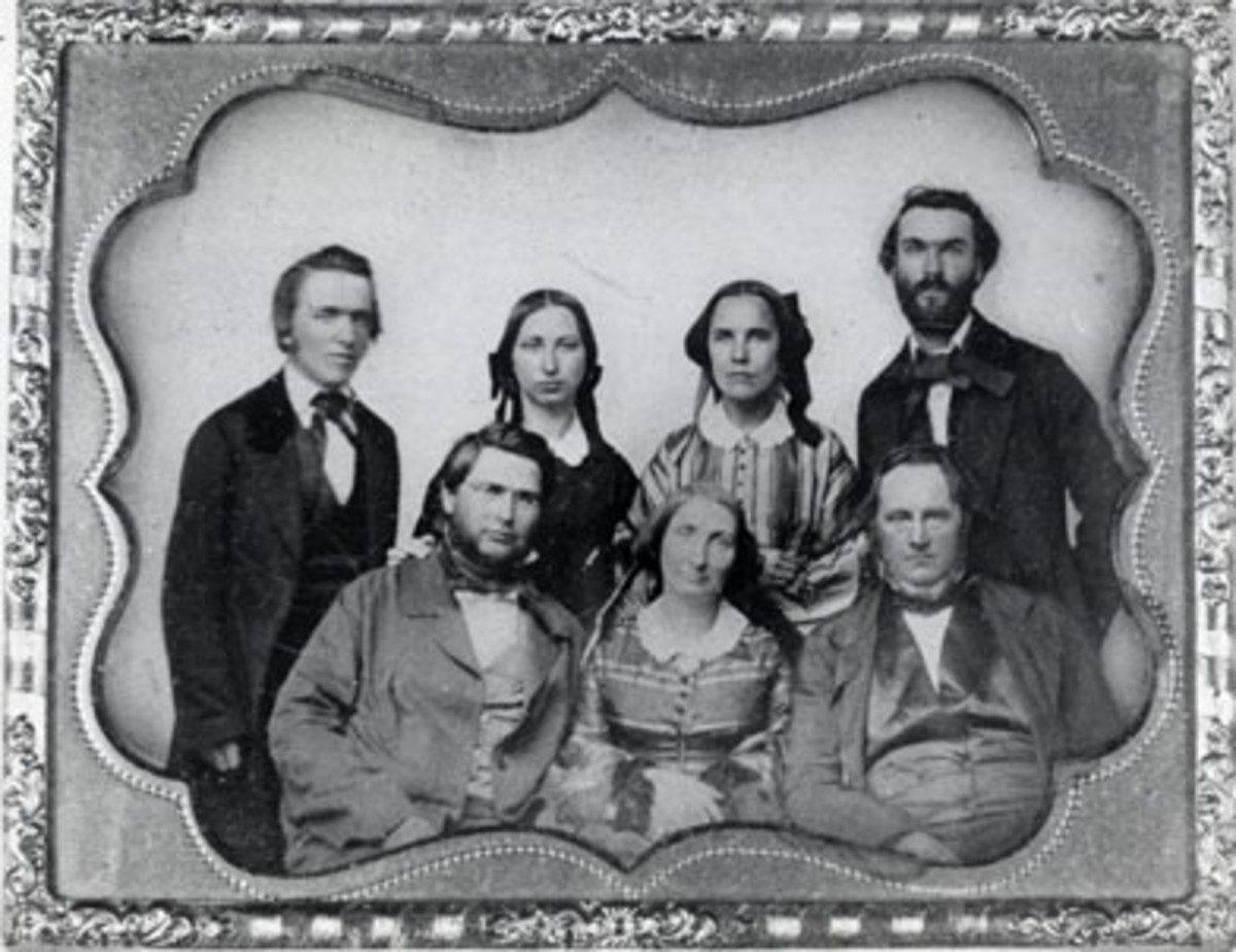 Faculty at Albion College 1861