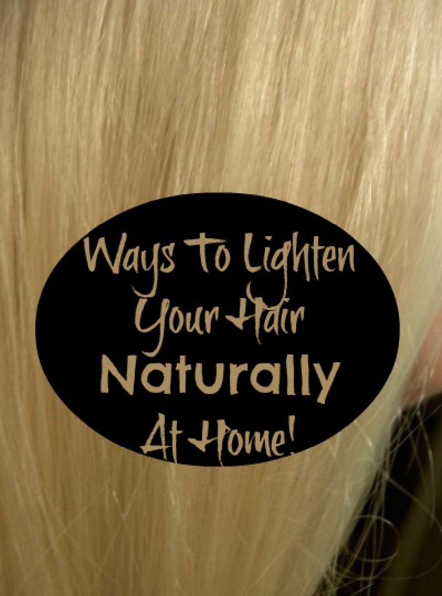What Are Some Easy Ways To Lighten Your Hair At Home Naturally