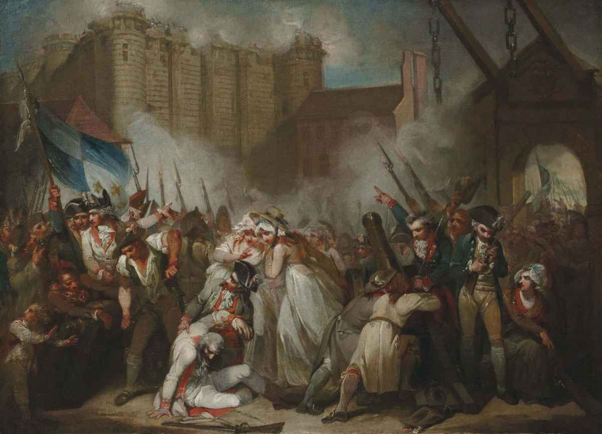The storming of the Bastille marks the official beginning of the French Revolution