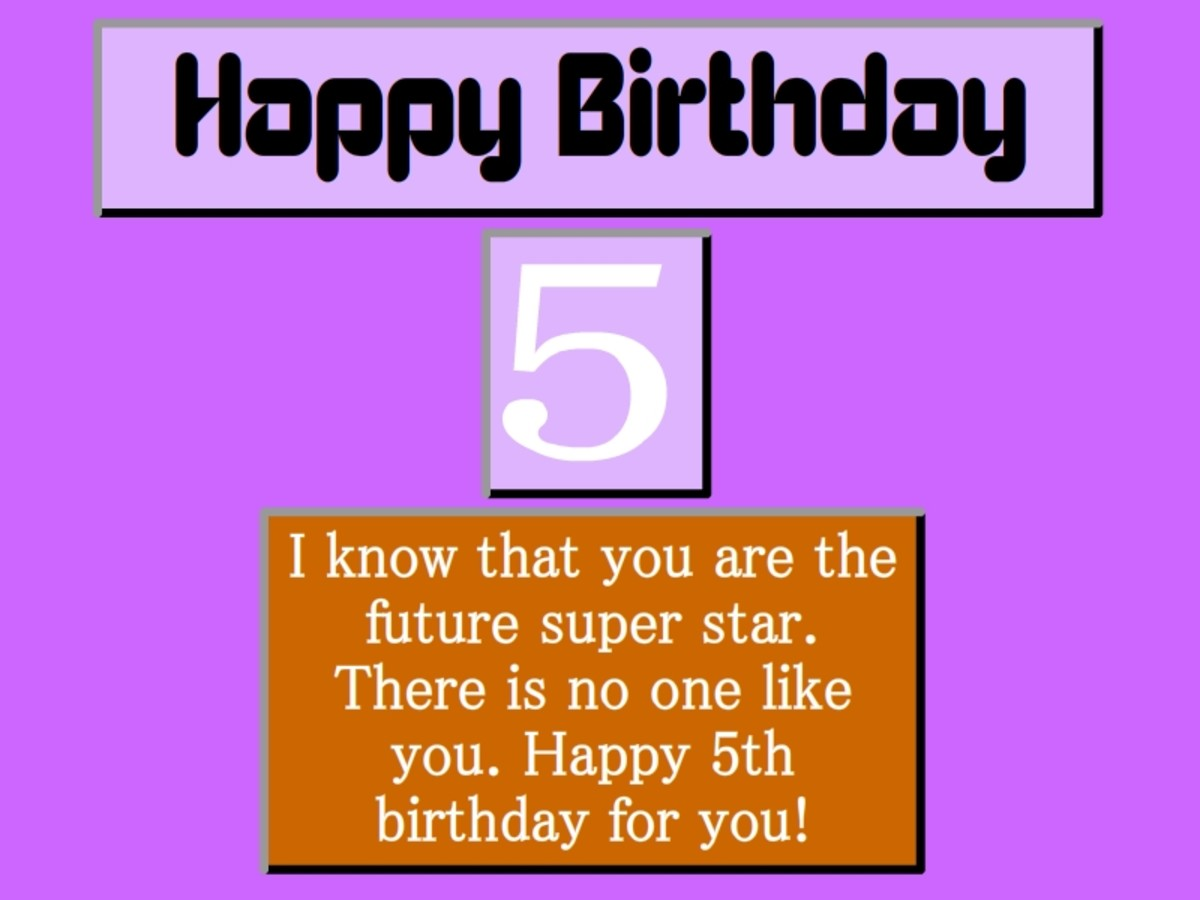 Happy 5th Birthday Quotes For Daughter: Happy 5th Birthday Boy Quotes Baby. QuotesGram