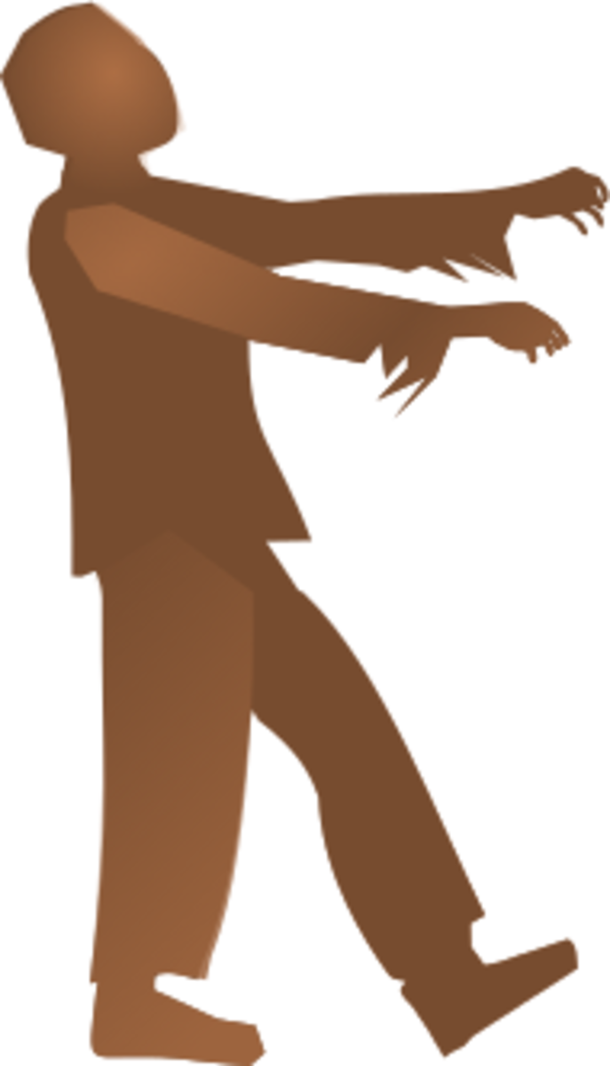 Zombie Clipart Image
