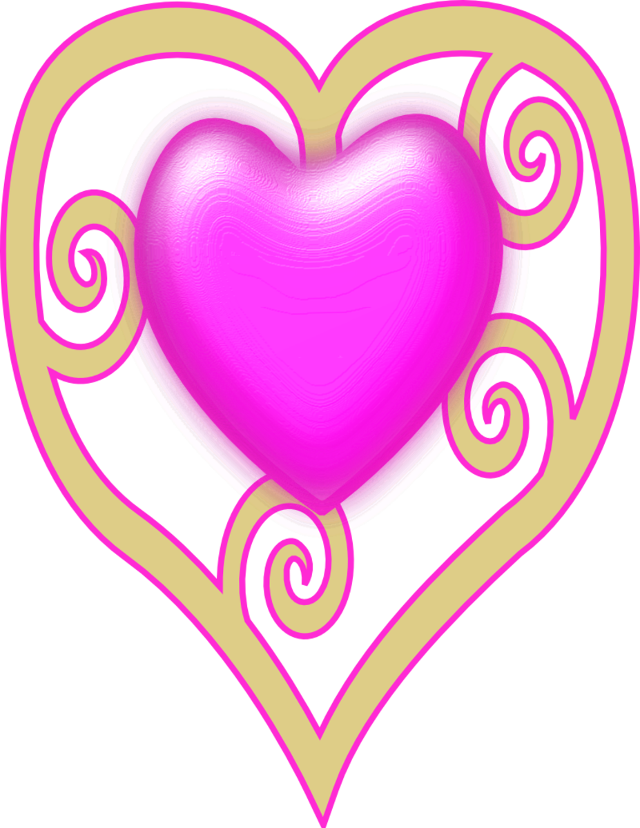 Pink Heart Pic