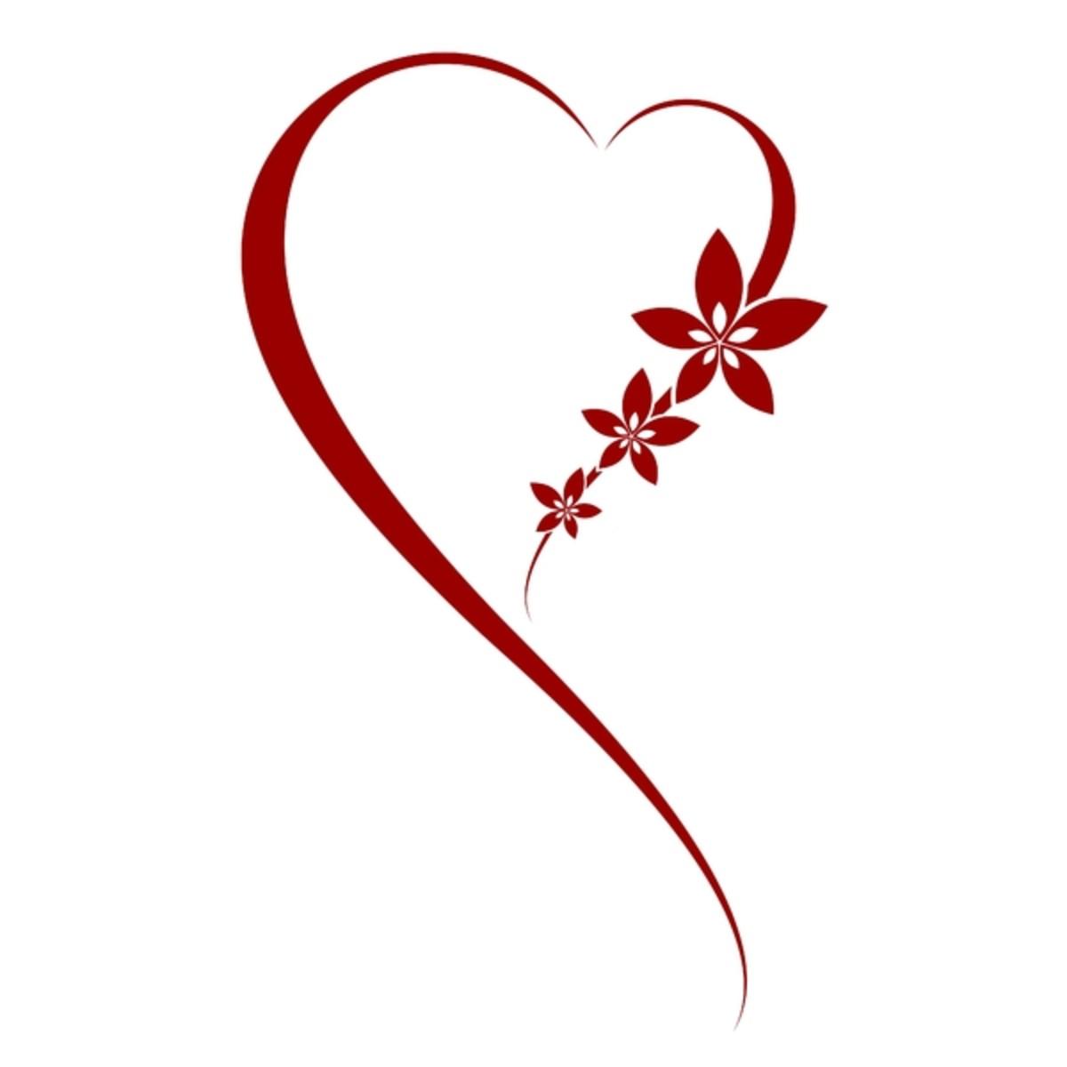 Heart Art Pattern