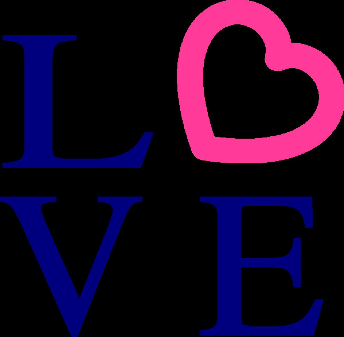 Love Heart Symbol Drawing