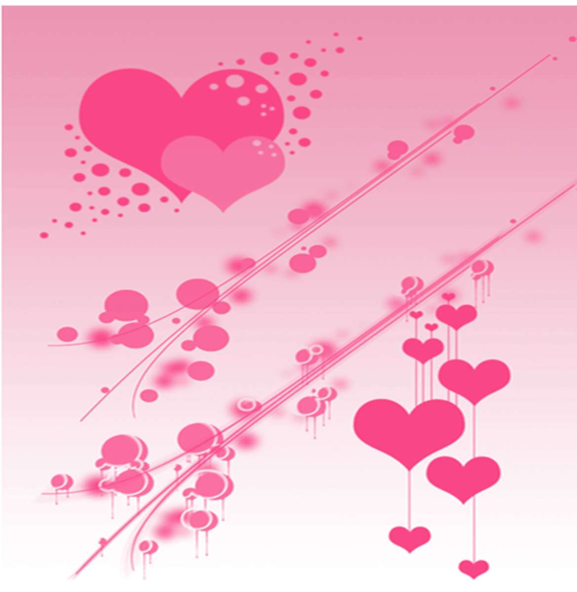 Pink Hearts Design