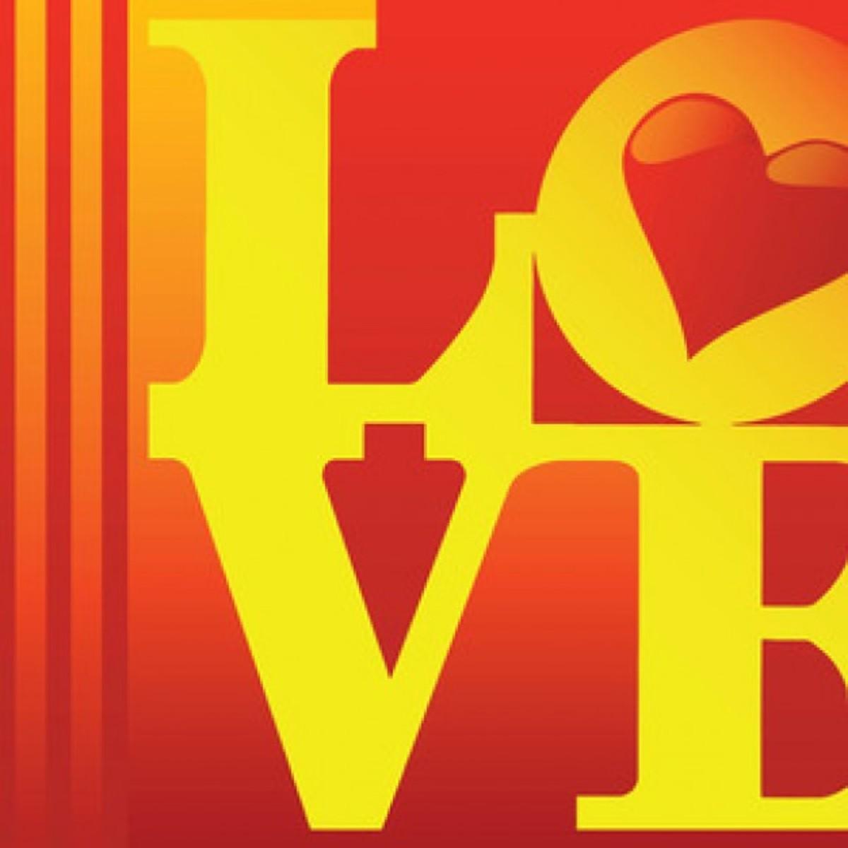 Love Heart Pop Art