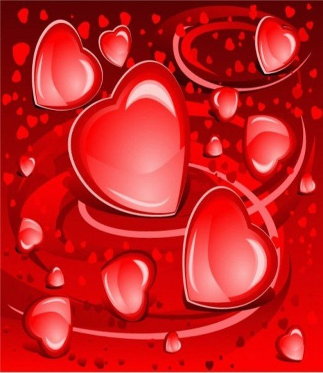 Red Hearts Pictures
