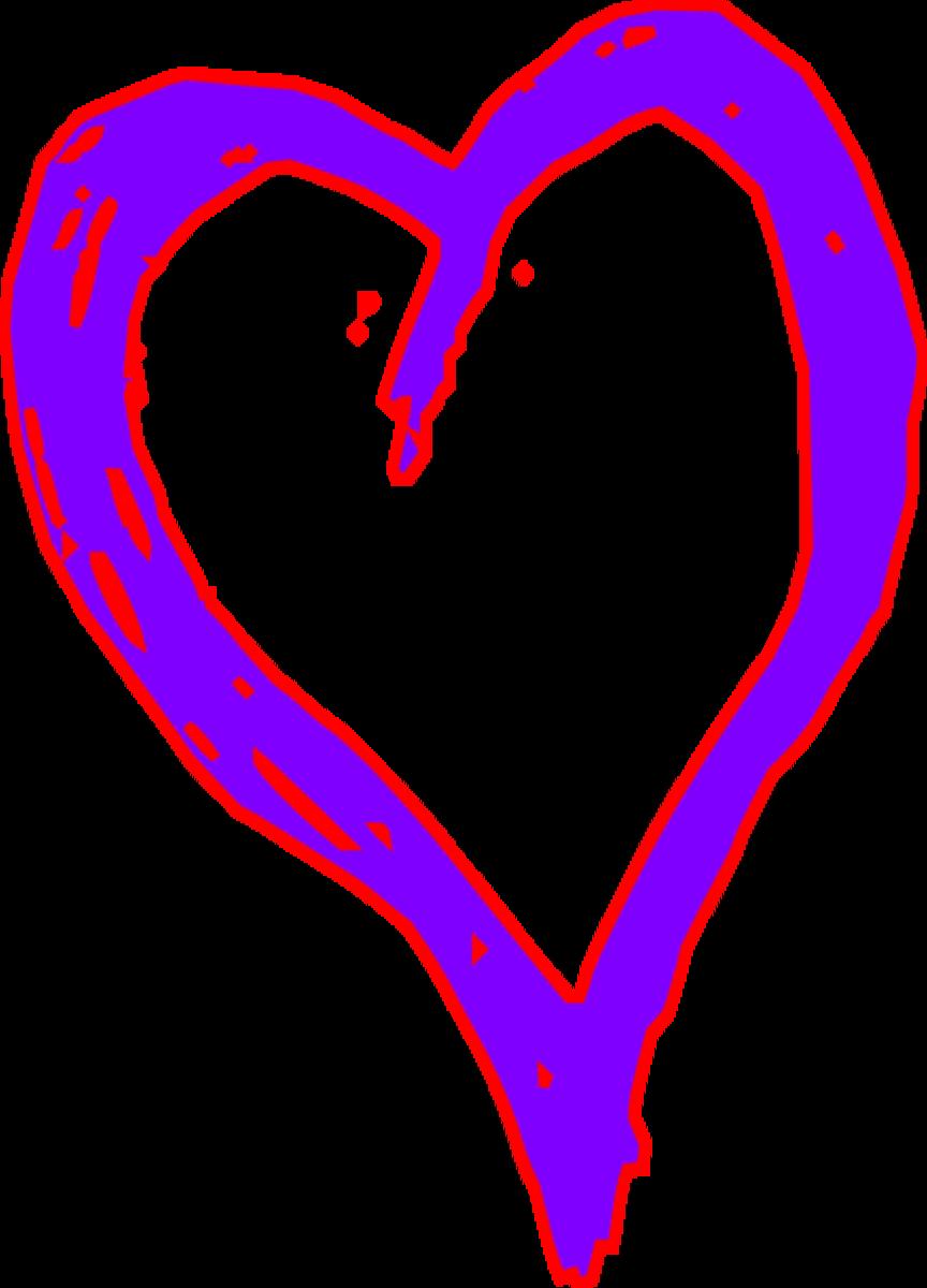 Pop Art Heart Pattern