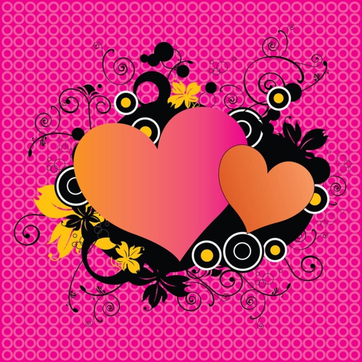 Hearts Graphic