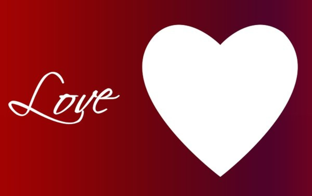 Simple Love Heart Design