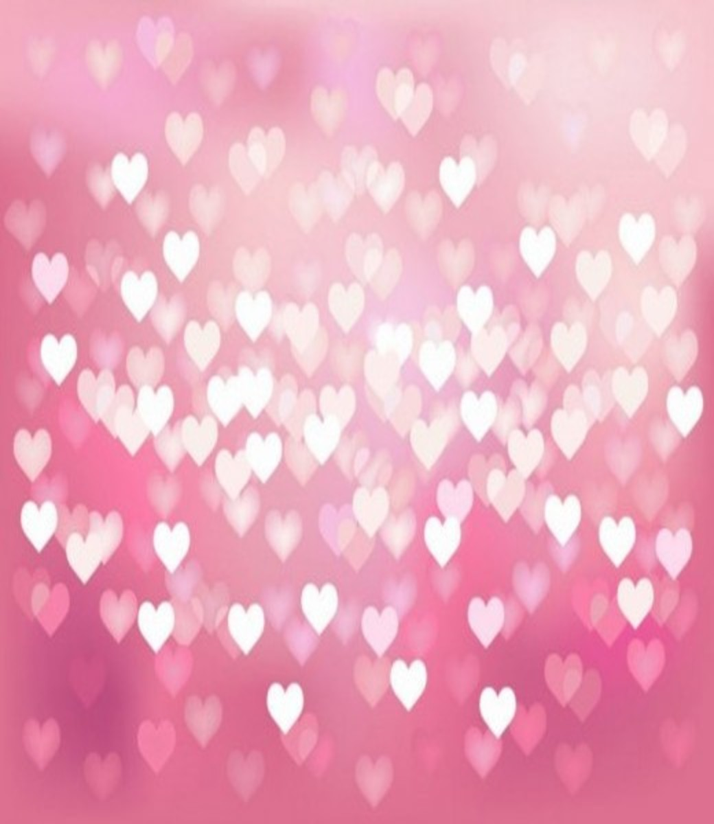 Pastel Hearts Wallpaper