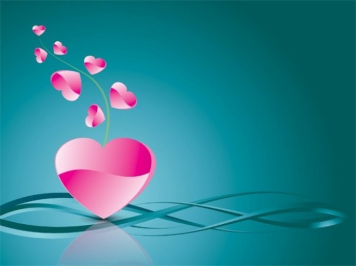 Pink Hearts Image