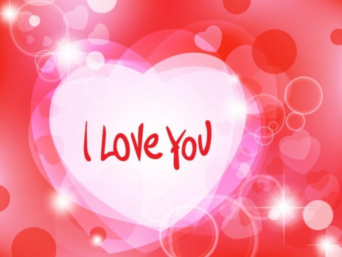 'I Love You' Heart