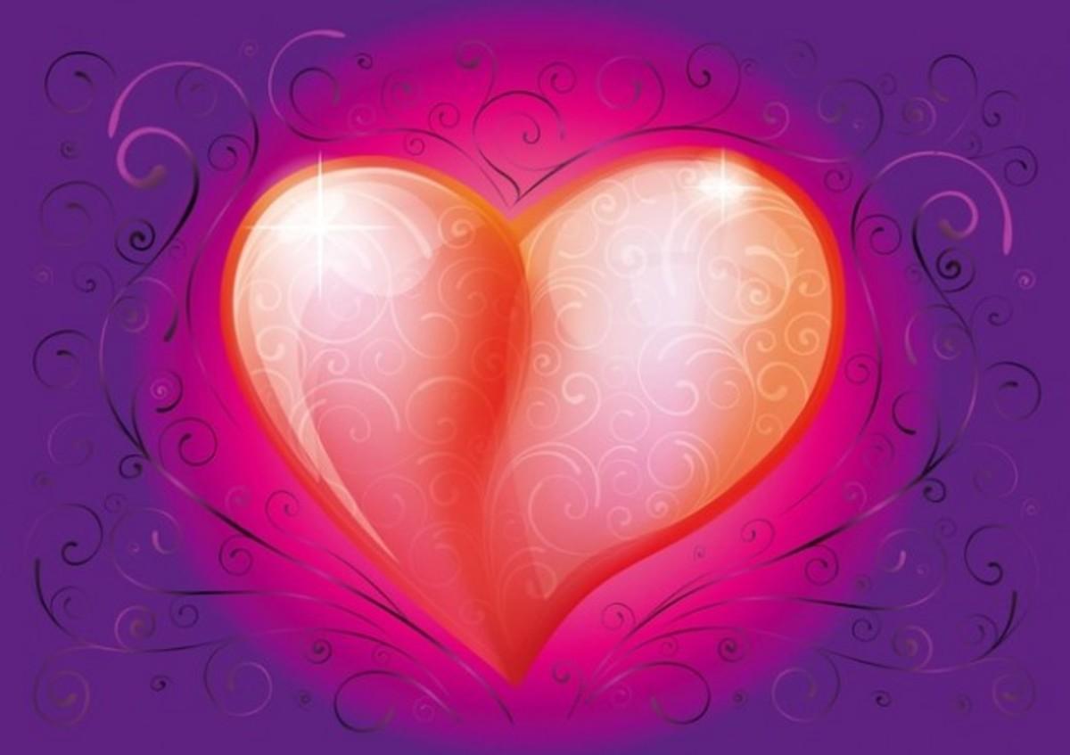 Vermilion Heart