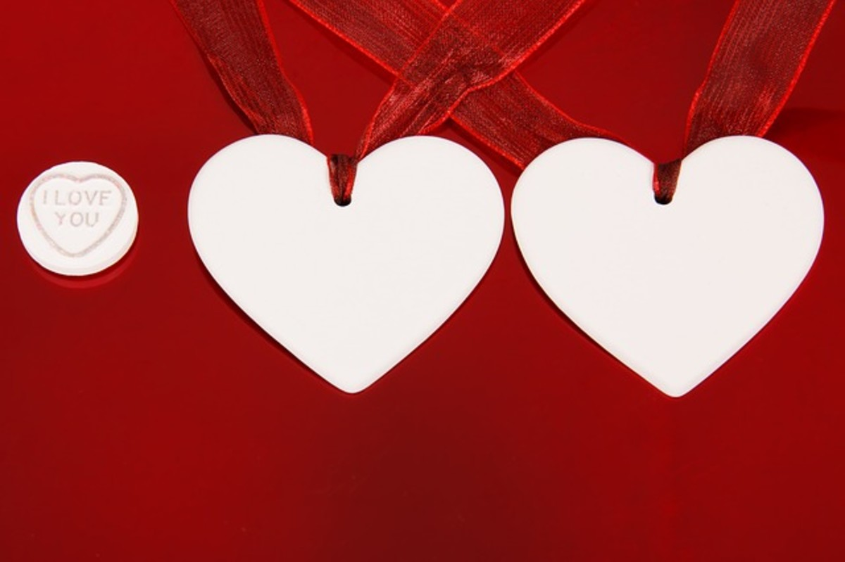 Two Hearts and 'I Love You' Picture