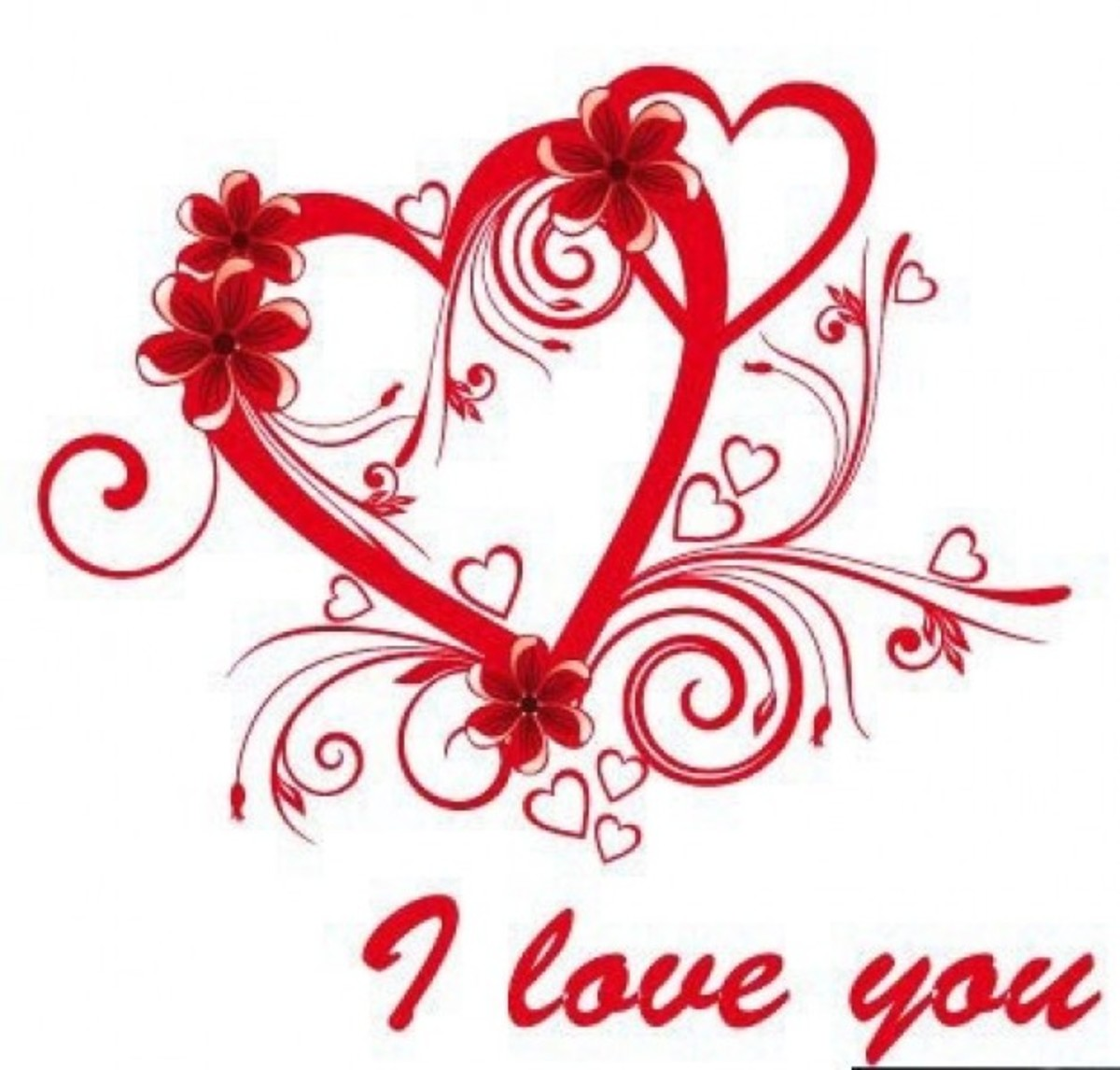 'I Love You' Heart Picture