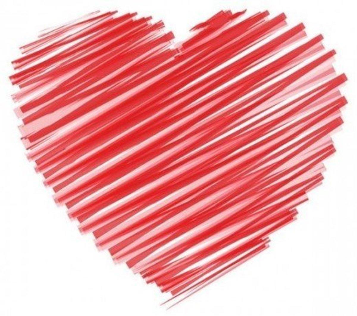 Heart Drawing Pattern