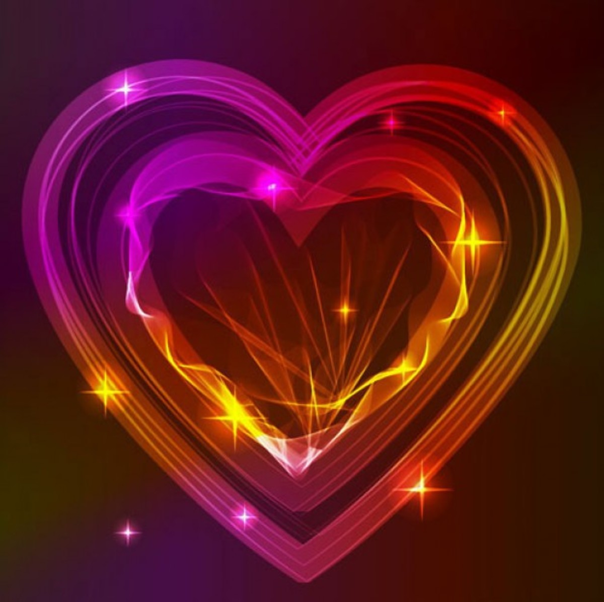 Iridescent Hearts Picture