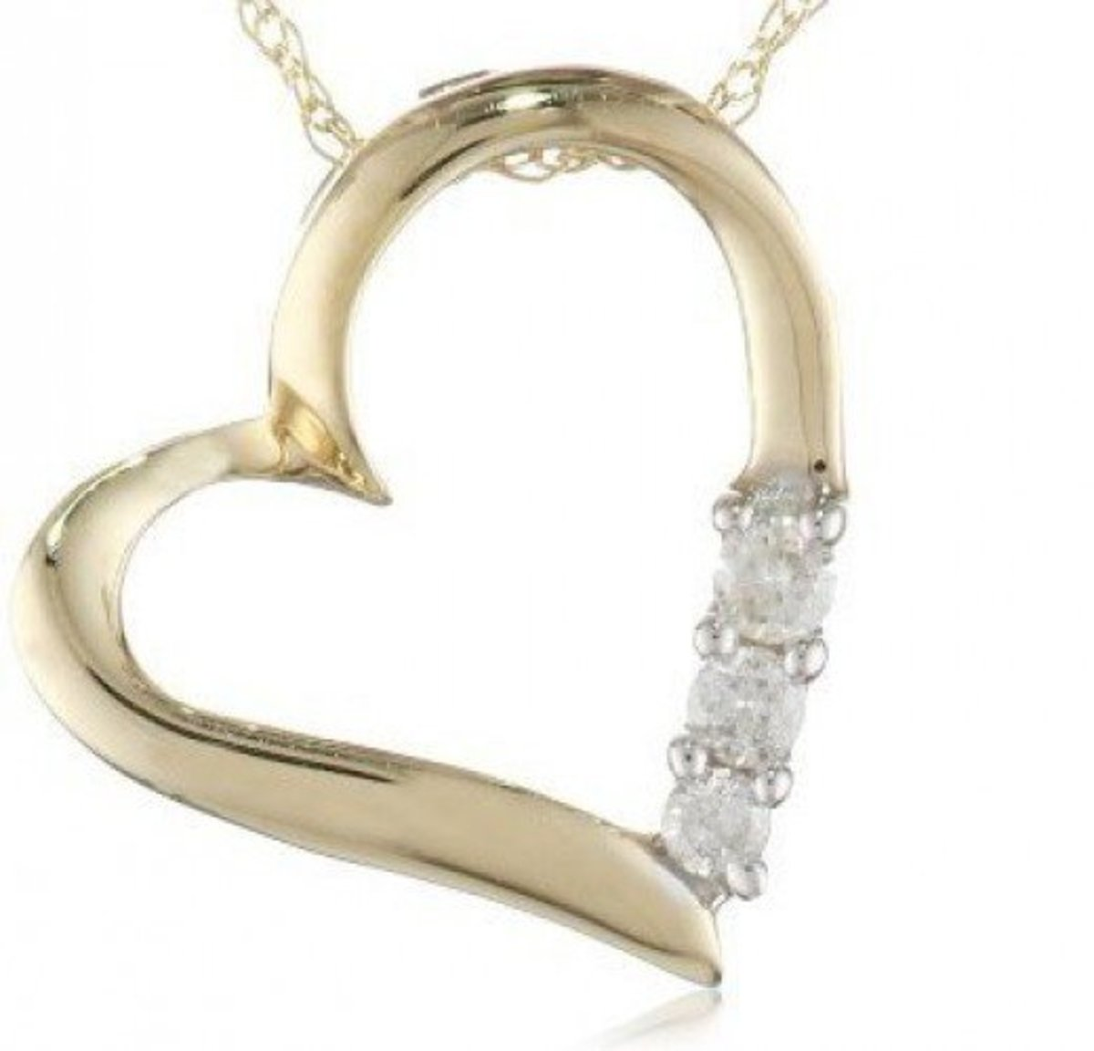 Gold Heart Photo Amazon Curated Collection