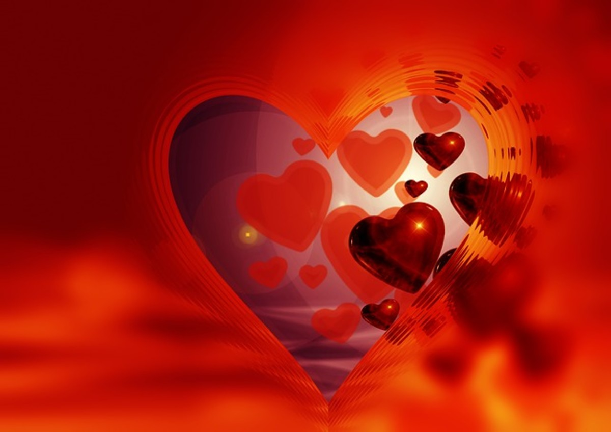 Pictures of Red Hearts