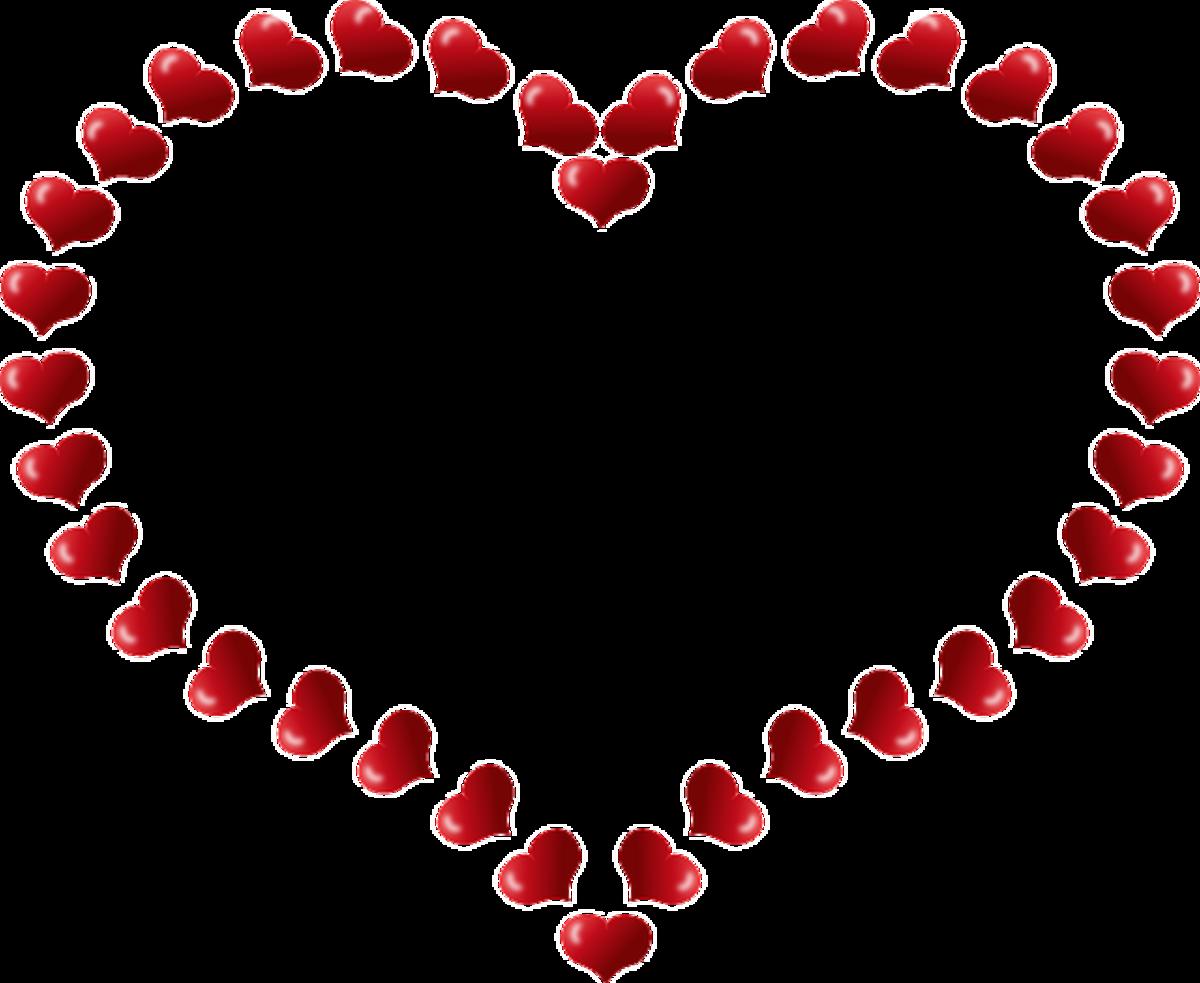 Open Heart of Hearts Pattern