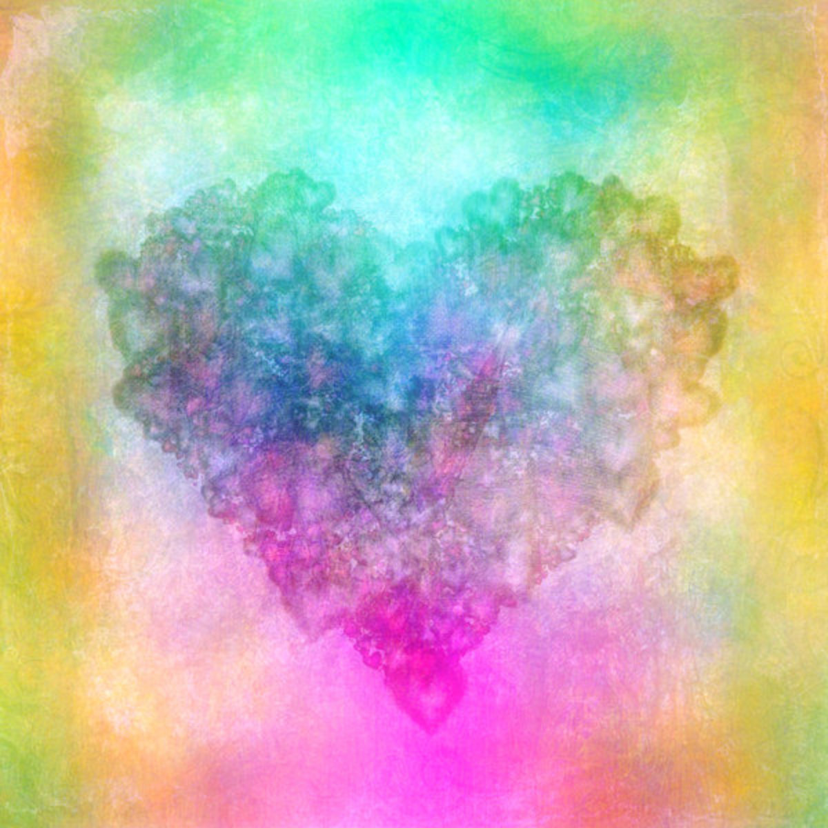Heart Watercolor Painting