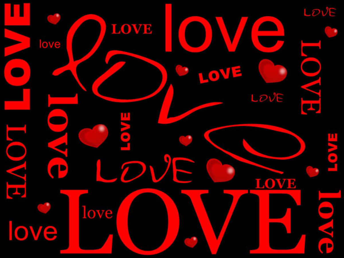 Love and Hearts Picture