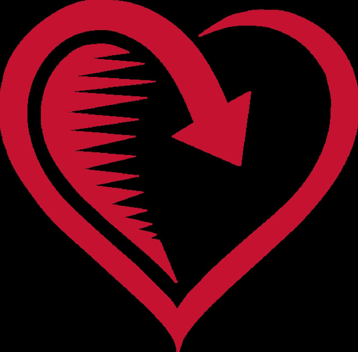 Heart Clip Art Pattern.