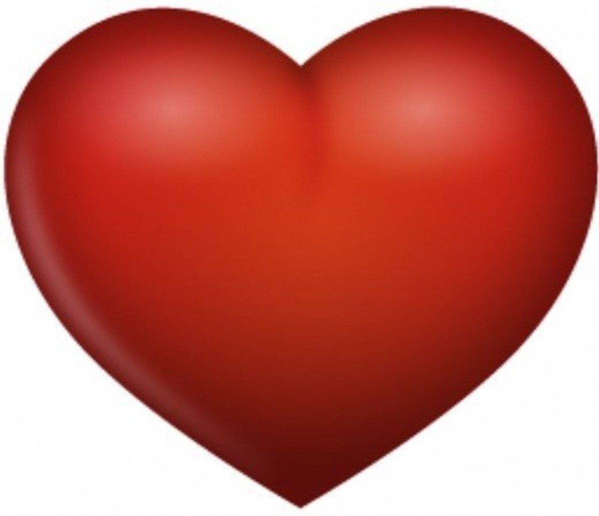 Red Heart Graphic Pattern