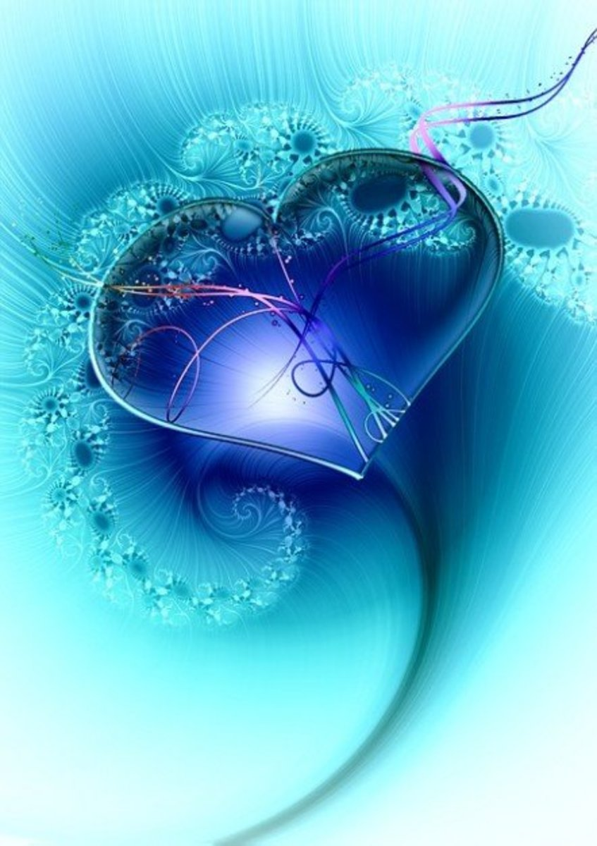 Blue Heart Image
