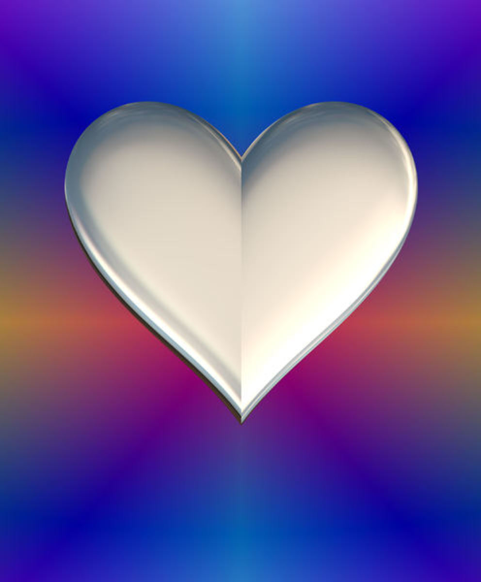 Silver Heart Picture