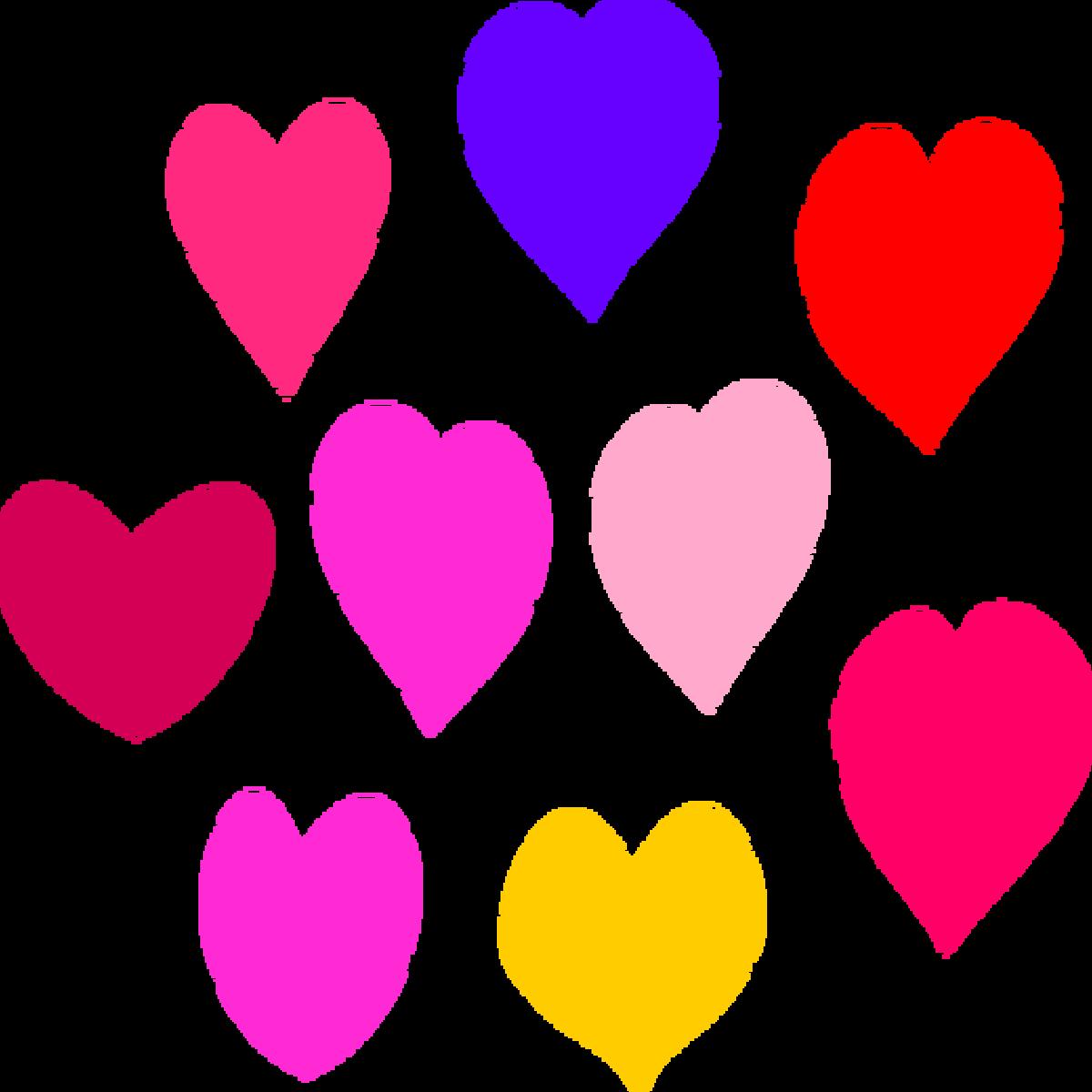 Hearts Clip Art Wallpaper