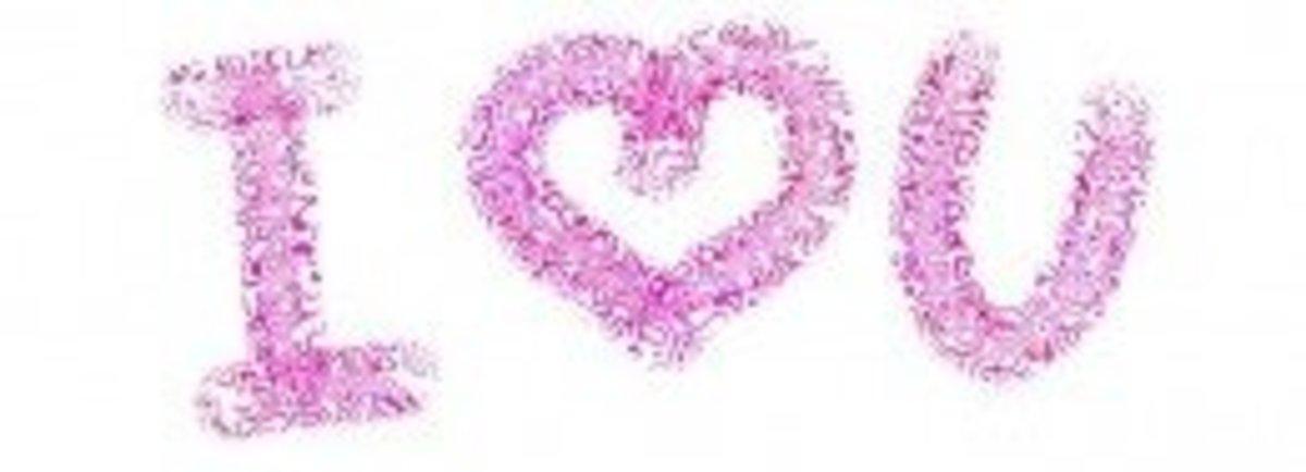 """I ♥ U."""