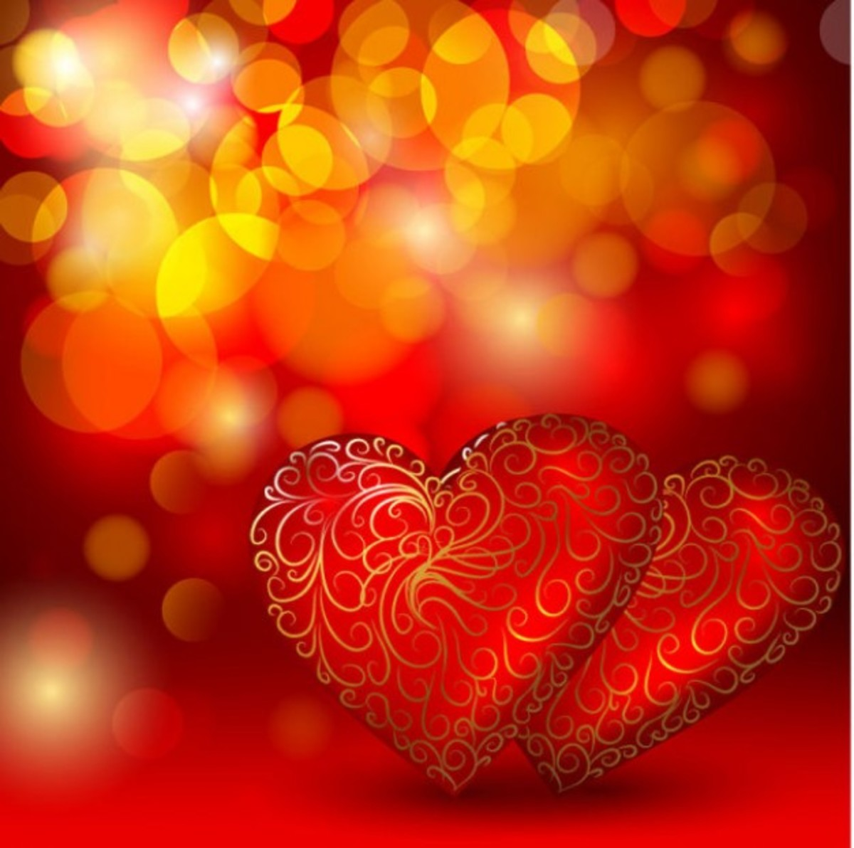 Two Red Hearts Image