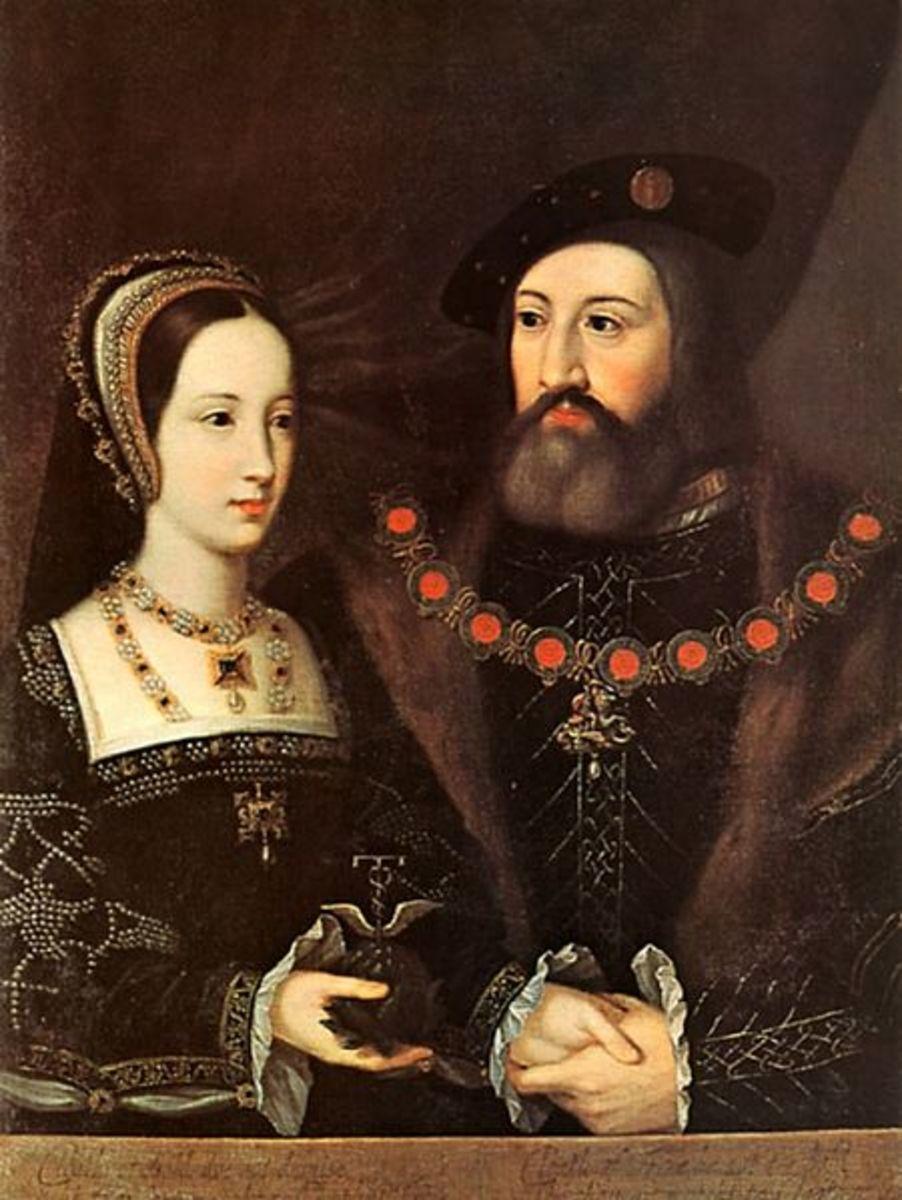 Mary Tudor married Charles Brandon in secret because she loved him