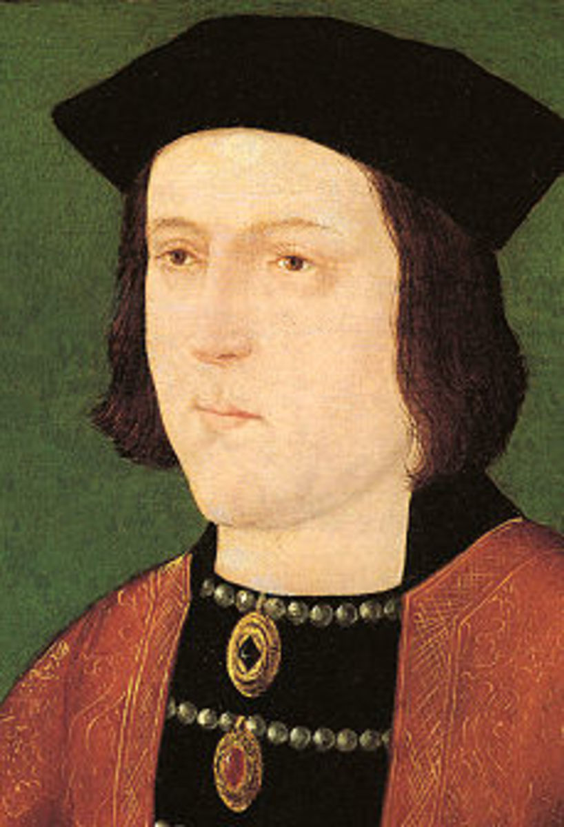 Edward VI was temporarily deposed between 1470 and 1471.