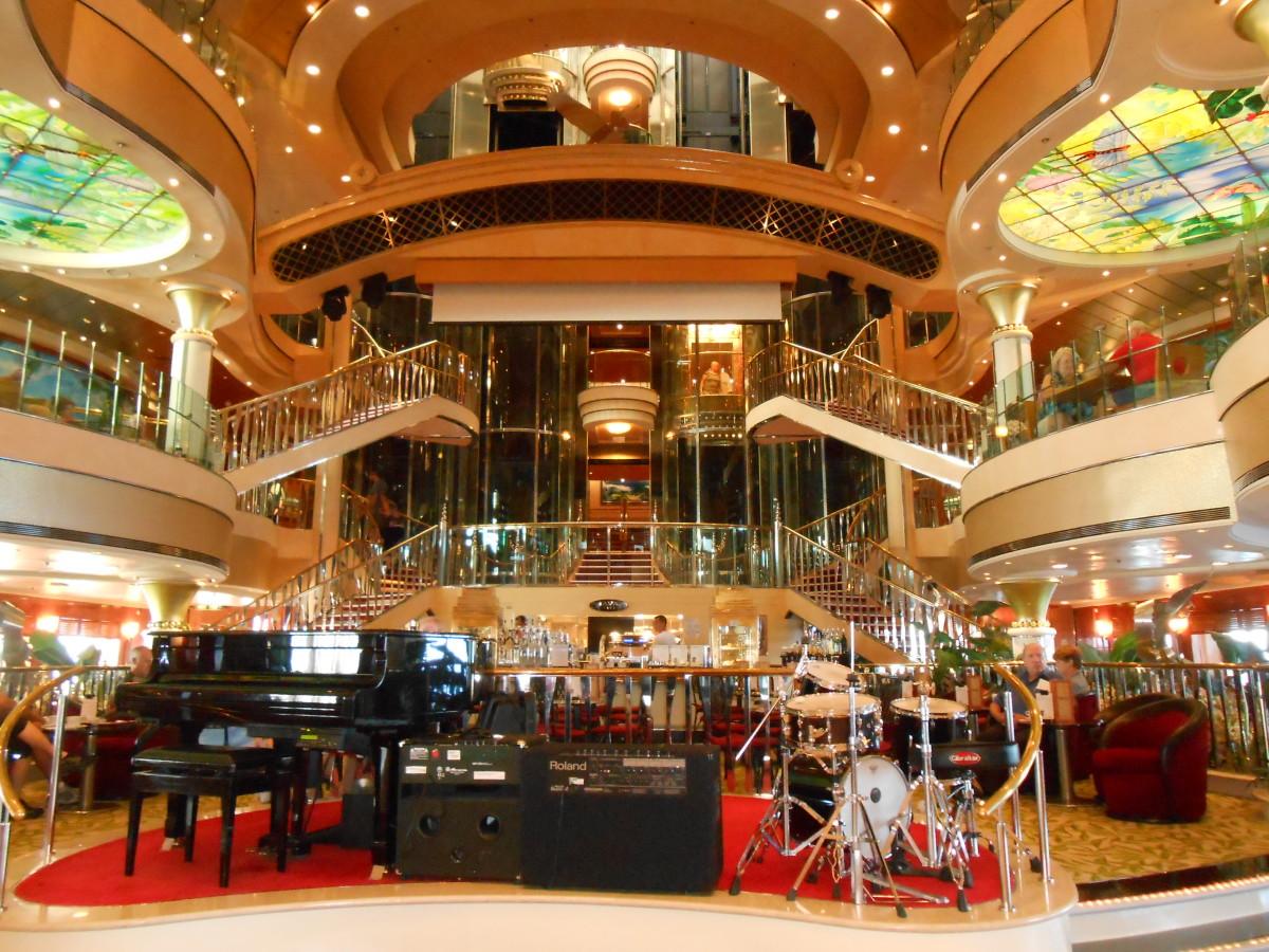 The 3 story atrium