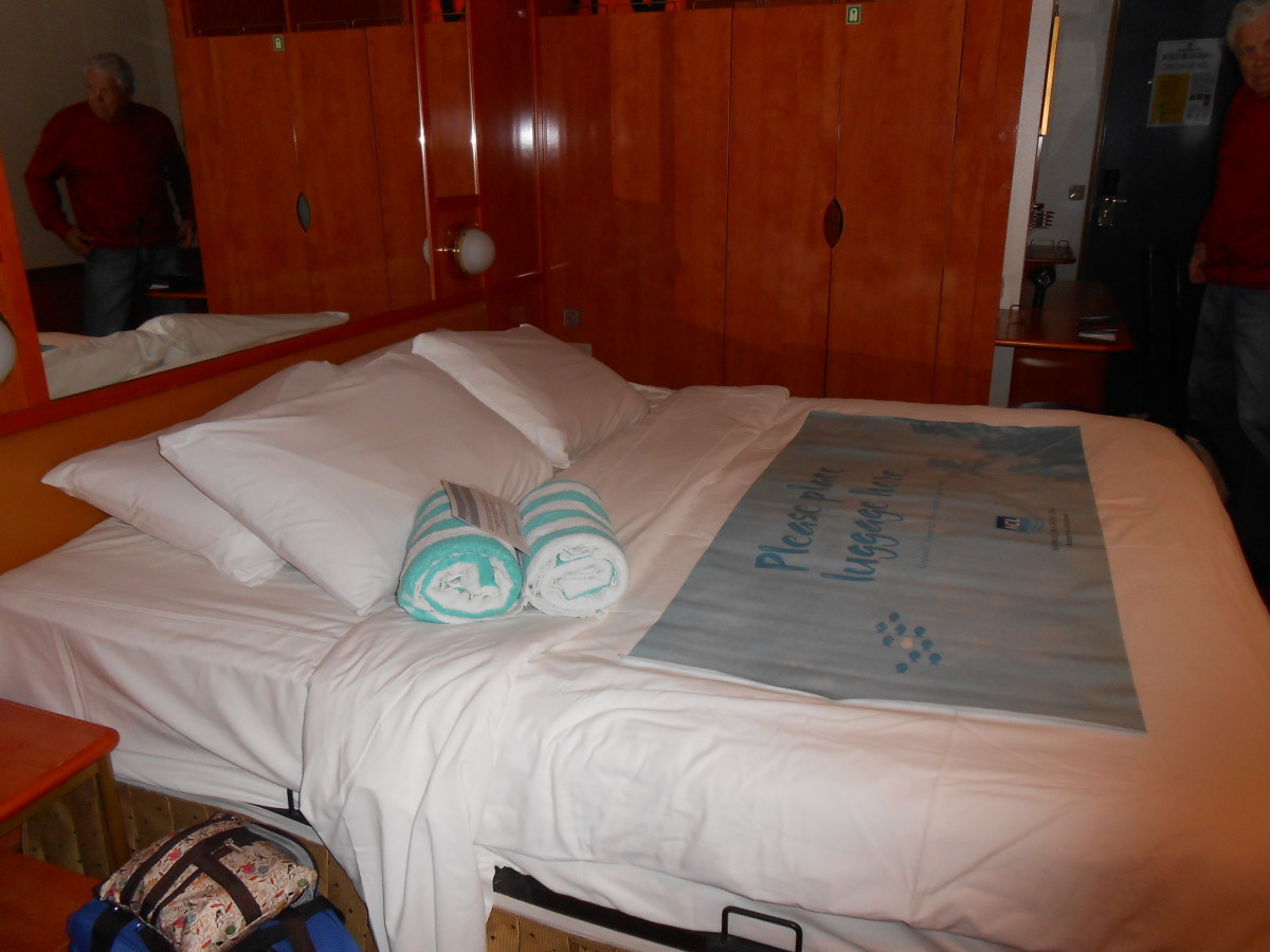 The mini suite on the Norwegian Star