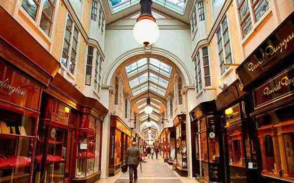 The burlington arcade London