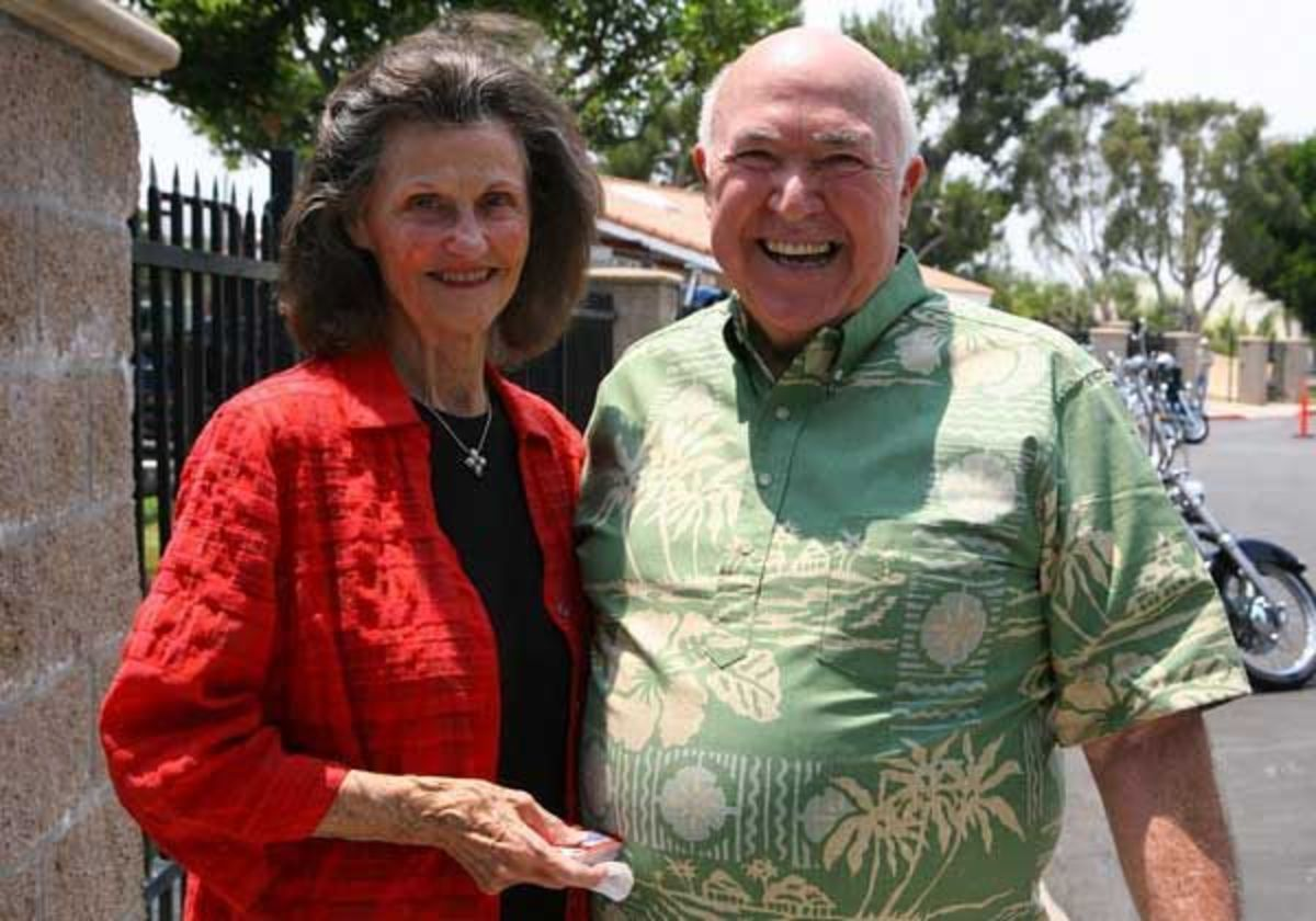 Pastor Chuck and wife Kay.