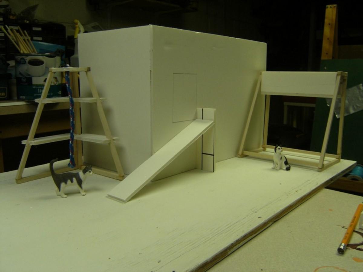 Corner and box unit.