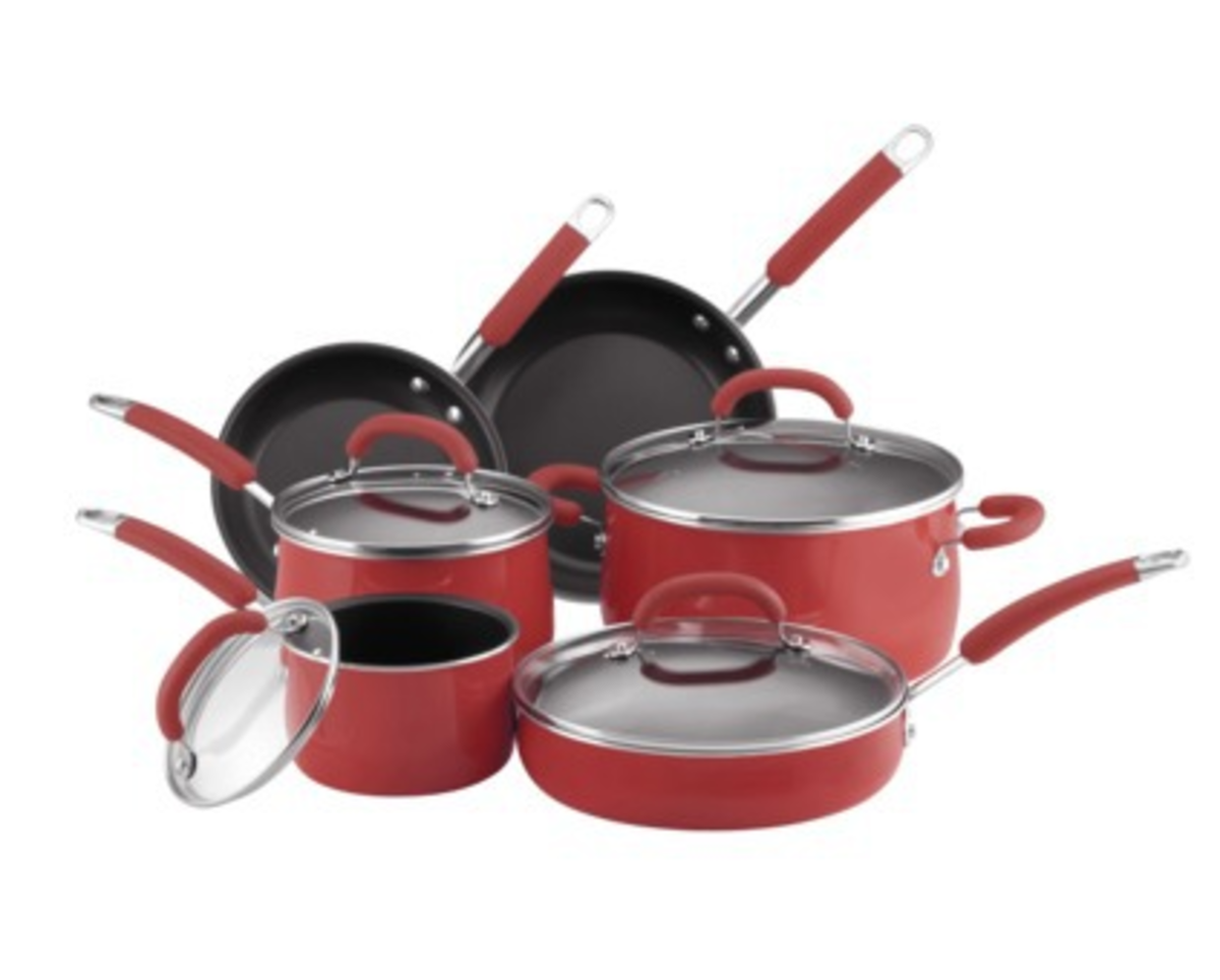Rachael Ray vs. Paula Dean Pot and Pan Sets
