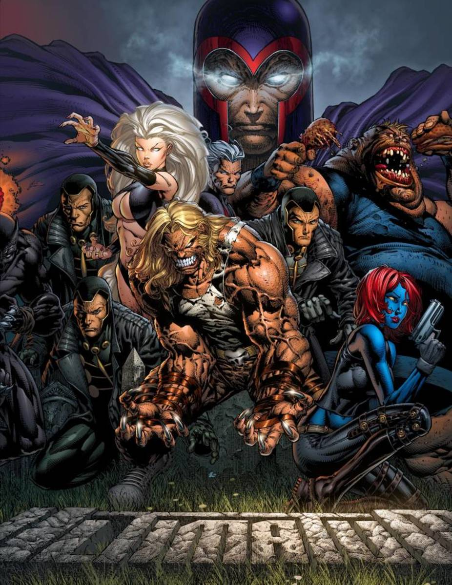 Who is the best X-Men villain, baddie, enemy? Magneto Vs Mystique Vs Sabretooth Vs Juggernaut Vs Sentinels Vs Mankind