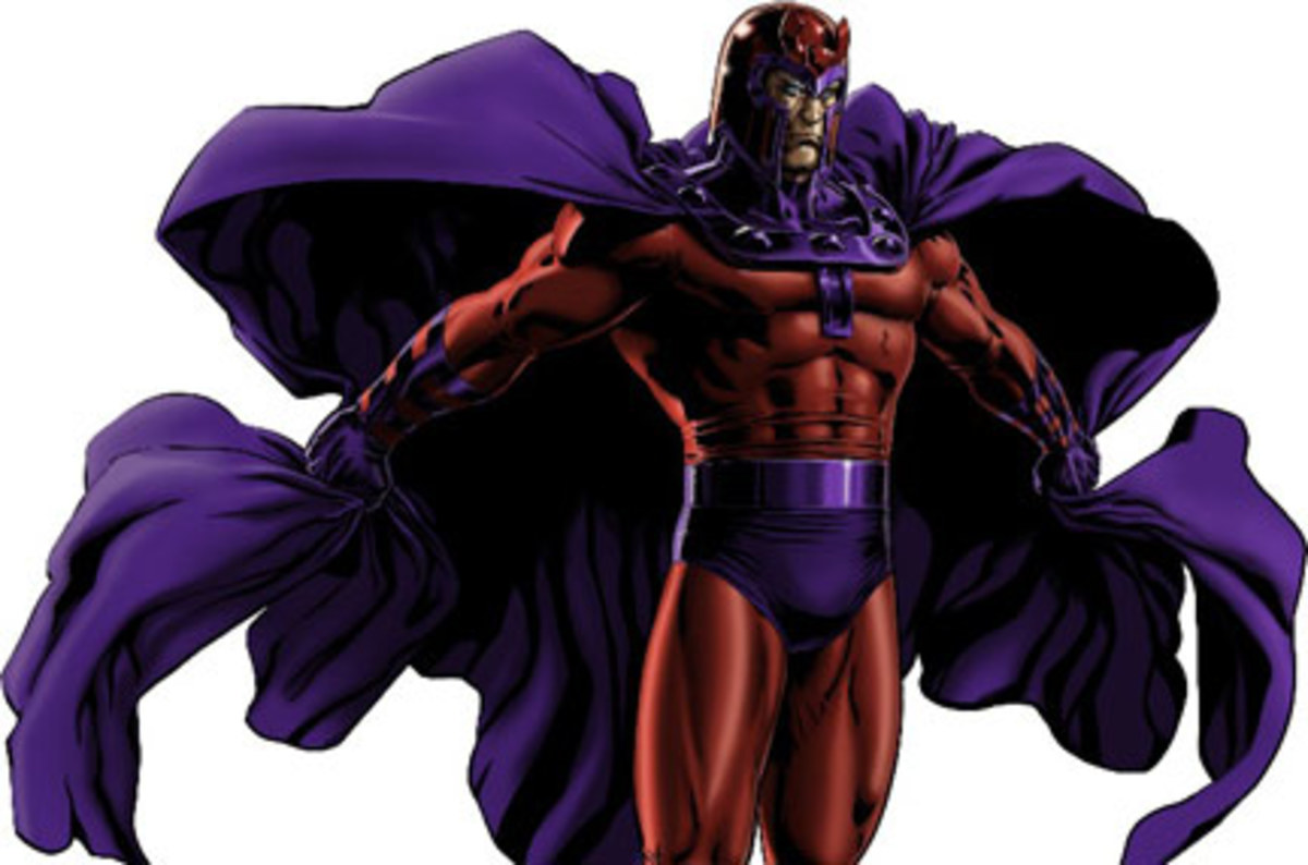 Magneto the leader of the rebels