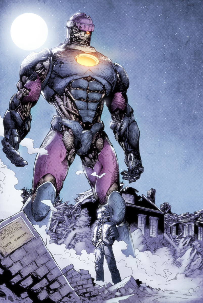 Sentinels - Huge and powerful