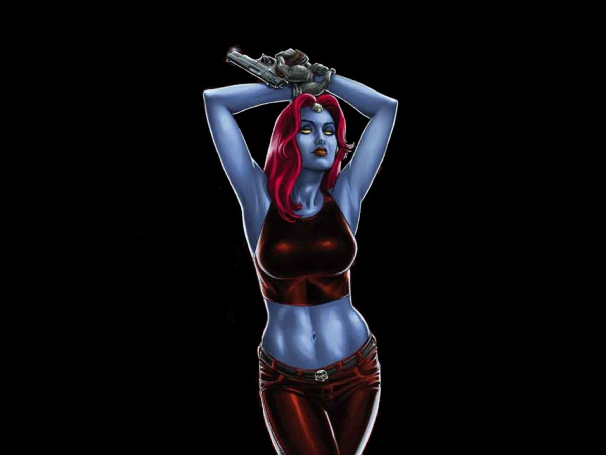 Mystique - sexy and deadly