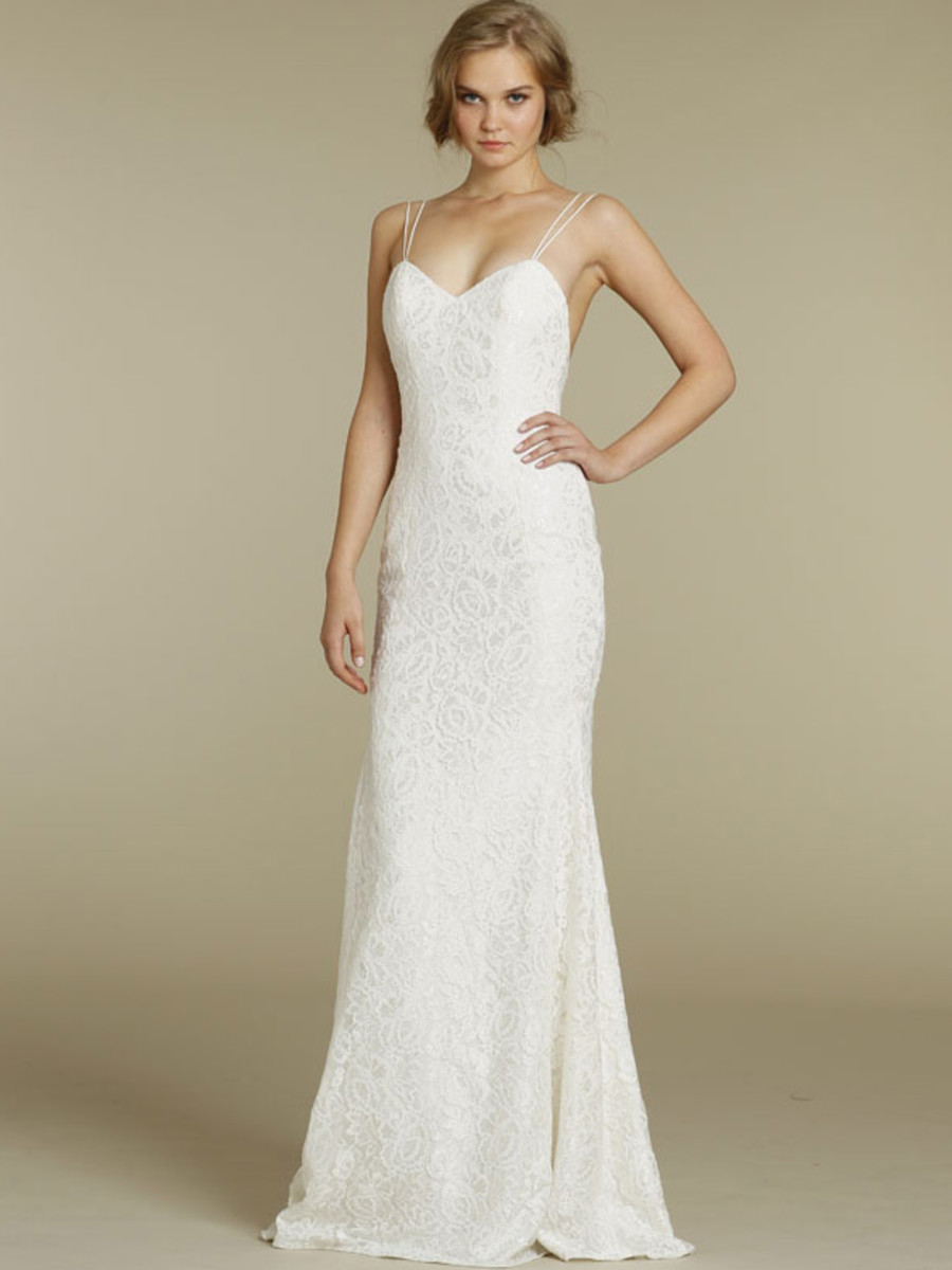 Slim Fitted wedding dress!