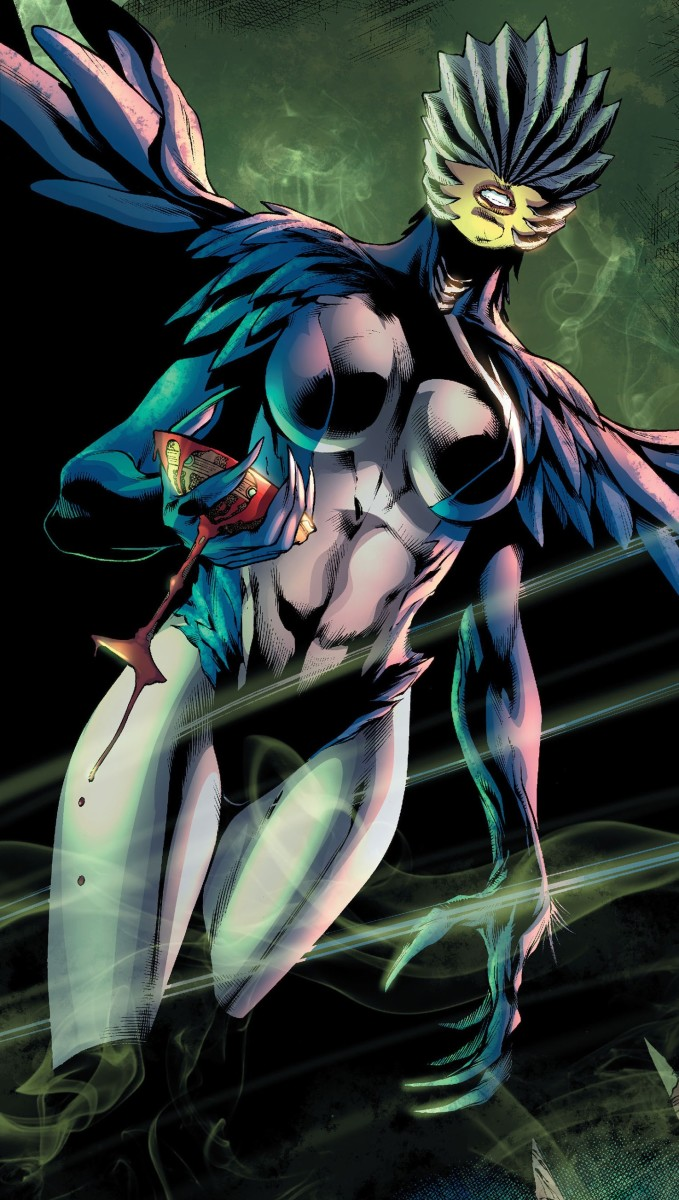 The New 52 probably has the the most unique costume of them all.