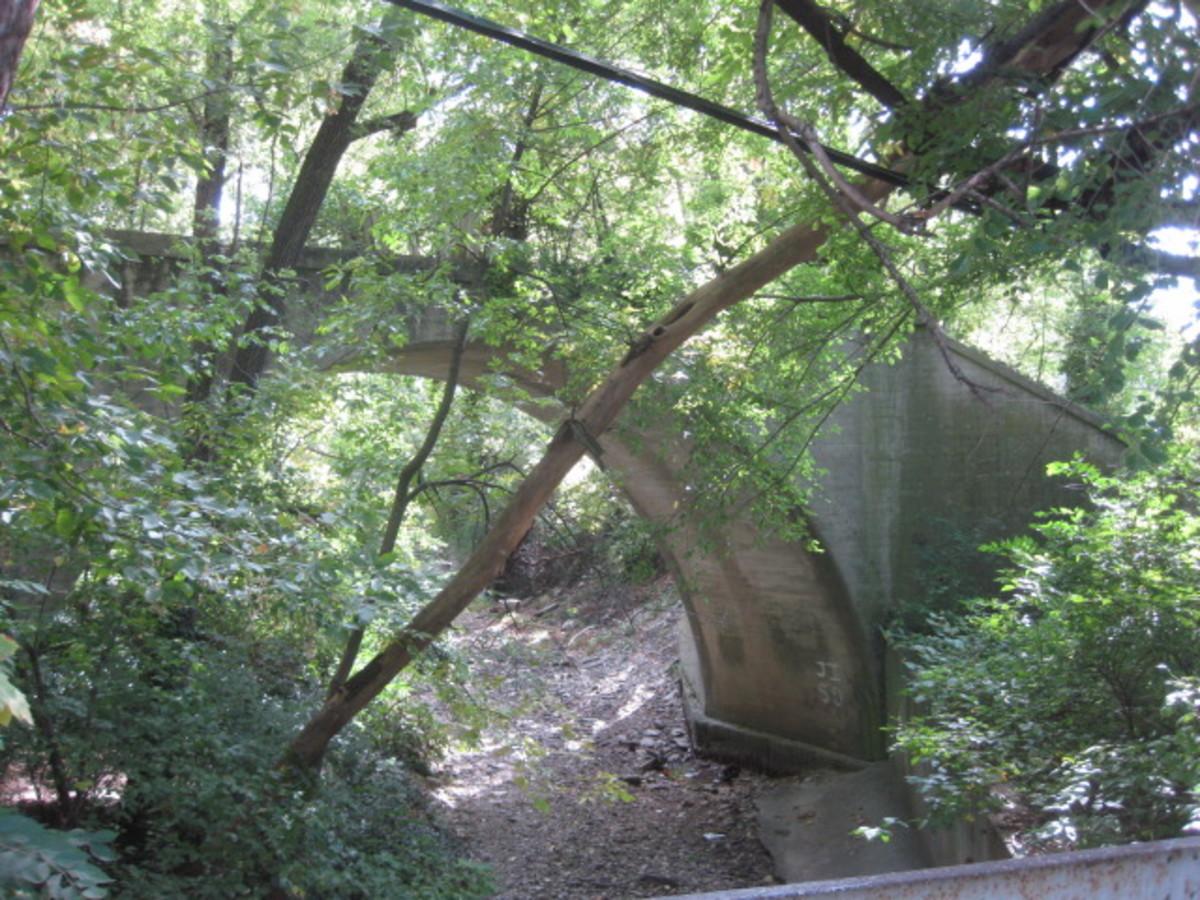 Large Single Luten Arch Bridge in Avondale